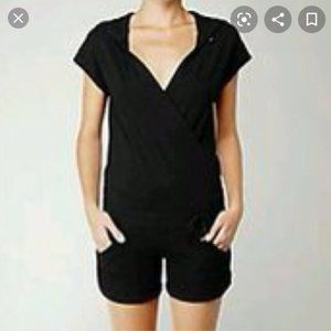 Lululemon work it rompers black medium